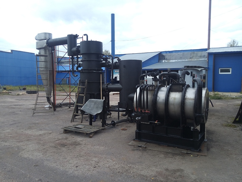 Стационарная газогенераторная установка - создание энергетических систем. Фото: газогенерация