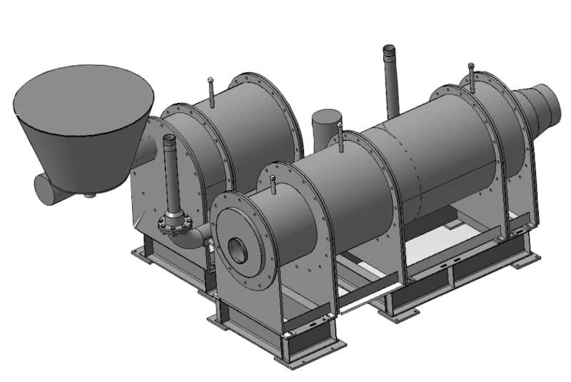 Аэродинамическая сушильная установка